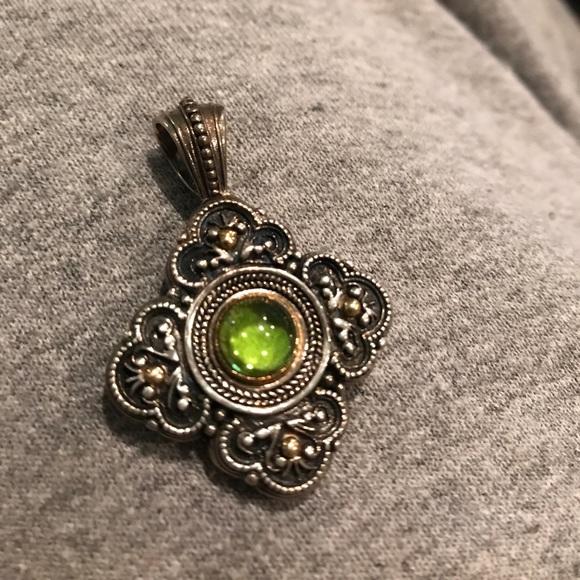 Konstantino jewelry silver and gold peridot pendant poshmark konstantino silver and gold peridot pendant aloadofball Gallery